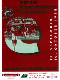 Plakat Tage des bürgerschaftlichen Engagements